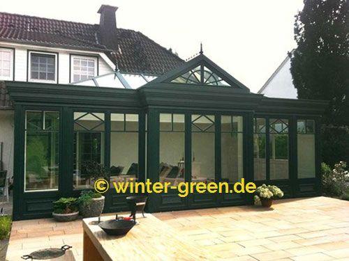 Grune Englische Viktorianische Wintergarten Vom Profi