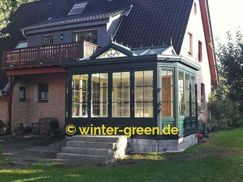 Viktorianischer Wintergarten grüne englische viktorianische wintergärten vom profi