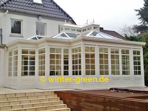 Orangerie Wintergarten weißer englischer wintergarten 026