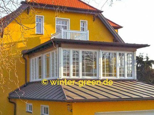 Weiße englische / viktorianische Wintergärten vom Profi